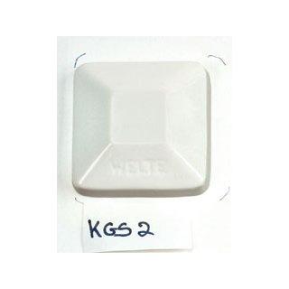 KGS2 Steinzeug-Glasur weiss, glänzend